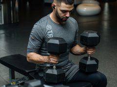 verstelbare fitnessbank